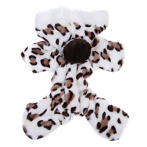 Кошка Собака Толстовки Комбинезоны Пижамы Одежда для собак Леопард Коричневый Розовый Флис Костюм Для домашних животных Муж. Жен. кошка собака толстовка пижамы одежда для собак леопард черный флис костюм для домашних животных муж жен на каждый день