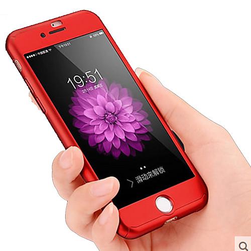 Кейс для Назначение Apple iPhone 8 iPhone 8 Plus iPhone 7 Plus iPhone 7 Защита от пыли Защита от удара Чехол Сплошной цвет Твердый ПК для клавиатура smartbuy one 112 black sbk 112u k