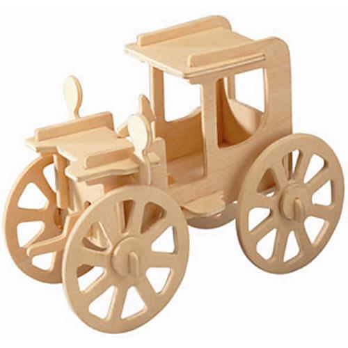 Деревянные пазлы Наборы для моделирования Старинная машина профессиональный уровень деревянный 1pcs Детские Мальчики Подарок фото