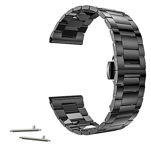 Ремешок для часов для Huawei Watch / Withings Activité / Withings Activité Pop Huawei / Withings Классическая застежка Нержавеющая сталь Повязка на запястье