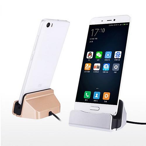 Док-зарядное устройство Зарядное устройство USB Универсальный Быстрая зарядка 1 USB порт 2.1 A DC 5V