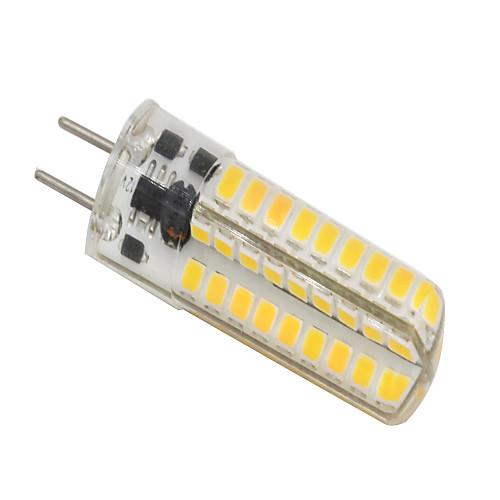 5W 320-350lm GY6.35 Двухштырьковые LED лампы T 72 Светодиодные бусины SMD 2835 Диммируемая Тёплый белый 12V