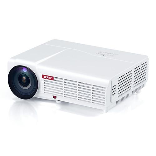HTP LED-96 ЖК экран Проектор для домашних кинотеатров Светодиодная лампа Проектор 3000 lm Поддержка WXGA (1280x800) 60-120 дюймовый Экран
