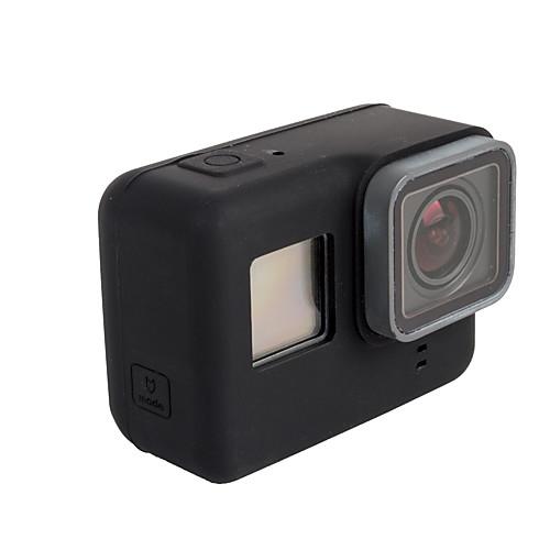 защитный футляр Для Экшн камера Gopro 6 Gopro 5 Дайвинг Серфинг Велоспорт Мотоцикл Силикон