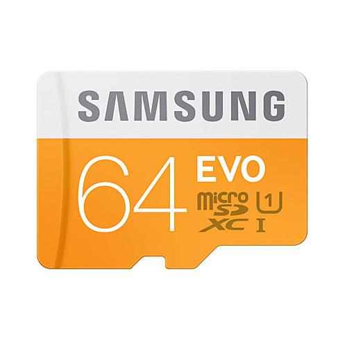 SAMSUNG 64 Гб Карточка TF Micro SD карты карта памяти UHS-I U1 Class10 EVO samsung evo micro sd 32gb uhs i u1 95mb s 2017 model