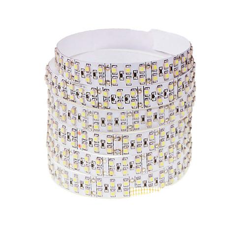 SENCART Гибкие светодиодные ленты 360 светодиоды Тёплый белый Белый Пульт управления Можно резать Диммируемая Меняет цвета Самоклеющиеся