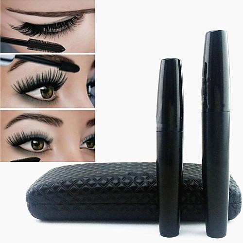 Тушь для глаз, густые ресницы, 3D объем, Черный Водонепроницаемый, Mascara Set, 2шт. от MiniInTheBox.com INT