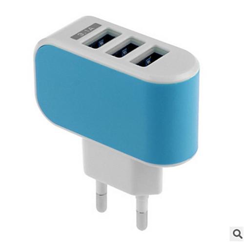 Зарядное устройство для дома Телефон USB-зарядное устройство Стандарт США Евро стандарт Быстрая зарядка Несколько портов 3 USB порта 3.1A зарядное устройство орион pw265