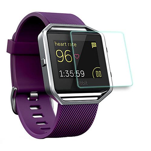 Защитная плёнка для экрана Назначение Fitbit Blaze Закаленное стекло Уровень защиты 9H 1 ед.