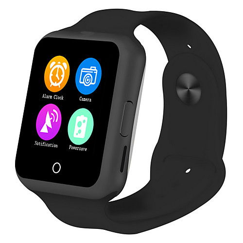 Smartwatch for iOS / Android Heart Rate Monitor / GPS / Hands-Free Calls / Water Resistant / Water Proof / Video Timer / Stopwatch / Activity Tracker / Sleep Tracker / Find My Device / 0.3 MP / 128MB