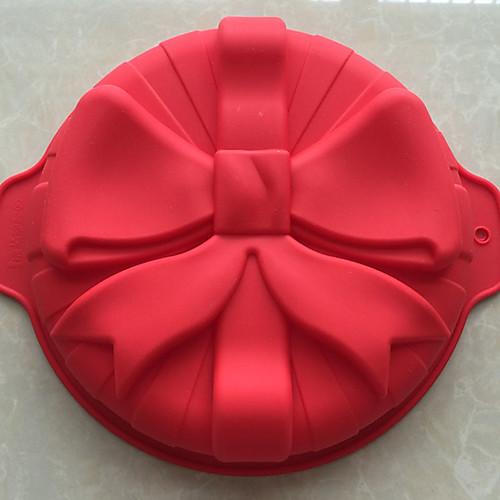 Инструменты для выпечки Силикон Антипригарное покрытие / 3D / Своими руками Хлеб / Торты / Печенье выпечке Mold cntomlv 1pcs кухонная техника для выпечки diy white plastic dumpling mold maker тестовое прессование пельменей 19 отверстий пельме