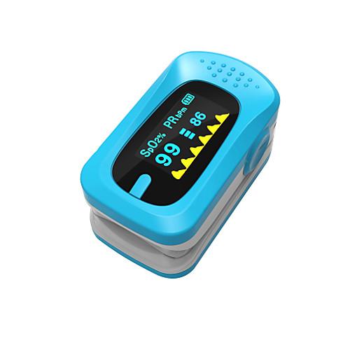 Ying Shi Импульсные палец оксиметрах ручной ЖК-дисплей с аккумуляторной батареей голос / память белый / красный / зеленый / синий / оранжевый пикап на р у с аккумуляторной батареей и батарейками для пульта синий