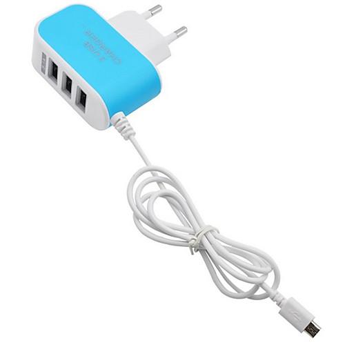 Зарядное устройство для дома Портативное зарядное устройство Телефон USB-зарядное устройство Евро стандарт Быстрая зарядка Несколько cabos usb cавтомобильное зарядное устройство с зажигалкой