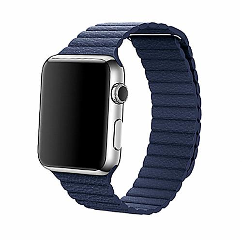 Ремешок для часов для Apple Watch Series 4/3/2/1 Apple Кожаный ремешок Натуральная кожа Повязка на запястье