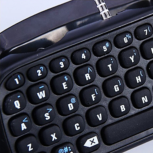 Bluetooth мини беспроводной Chatpad текстового чата сообщение игра клавиатуры контроллер консоли для PS4 контроллера от MiniInTheBox INT