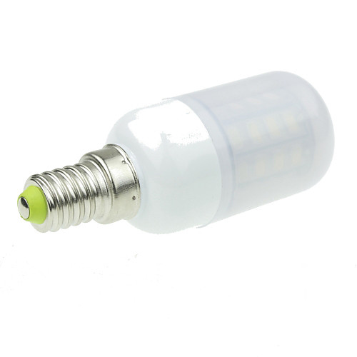 4W 350-400lm E14 LED лампы типа Корн 40 Светодиодные бусины SMD 5630 Декоративная Тёплый белый / Холодный белый 100-240V / RoHs