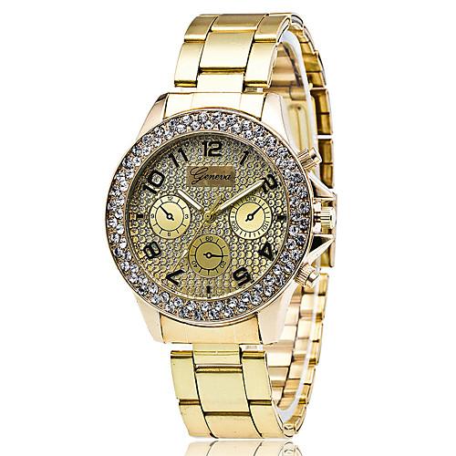 Xu™ Жен. Модные часы / Наручные часы сплав Группа Винтаж / На каждый день Серебристый металл / Золотистый / Розовое золото серьги selena street fashion цвет золотистый серебристый 20089160