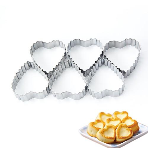 выпечке Mold Сердце Печенье Металл Своими руками Новый год День рождения Новогодняя тематика