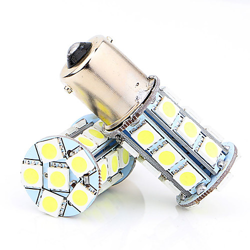 2pcs Автомобиль Лампы SMD 5050 Светодиодная лампа Задний свет / Фонарь заднего хода / Стоп-сигнал
