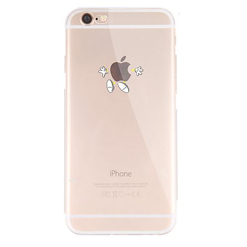 Кейс для Назначение Apple iPhone X iPhone 8 iPhone 8 Plus Кейс для iPhone 5 iPhone 6 iPhone 7 С узором Кейс на заднюю панель Композиция с apple watch iphone 6 plus iphone 6s iphone 6 iphone 5s iphone 5 iphone 5c iphone 4 4s iphone 3g 3gs держатель стенд apple watch iphone 6