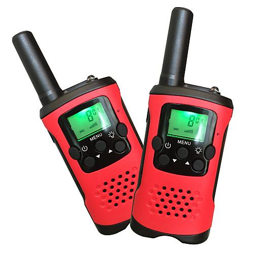 T48 Радиотелефон Для ношения в руке Аналоговая VOX Шифрование Автоответ Замок подсветка LCD Сканер Обзор 5 - 10 км 5 - 10 км 22Channels