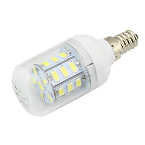 2W 500lm E14 LED лампы типа Корн T 27 Светодиодные бусины SMD 5730 Декоративная Тёплый белый Холодный белый 85-265V 12V цена