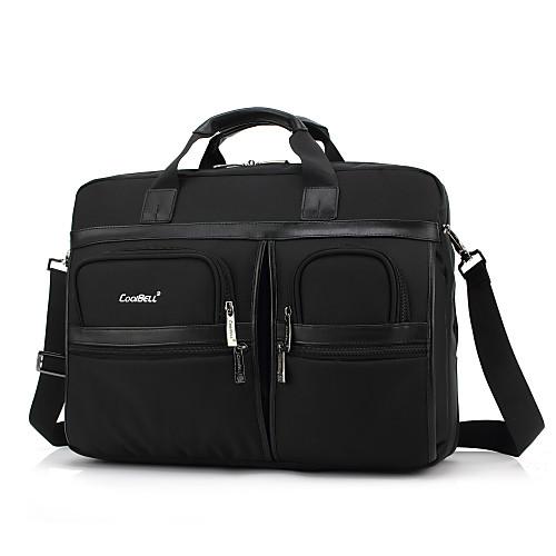 17.3 дюймовый мульти-купе ноутбук сумка водонепроницаемая ткань оксфорд с ремешком ноутбук сумка рукой мешок для Dell / HP / сони / Асер / ноутбук