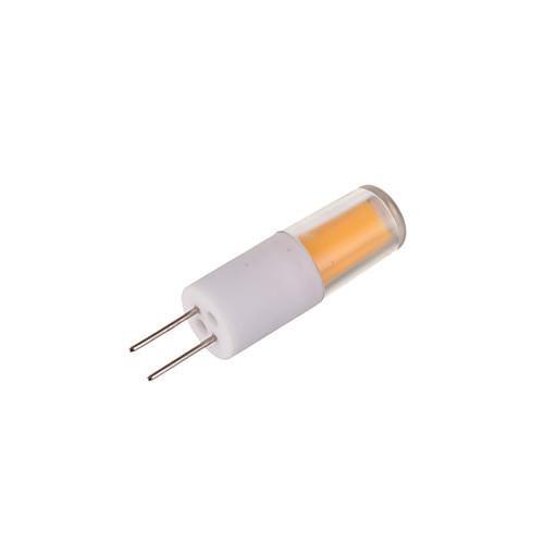 2800-3000/6000-6500lm G4 Двухштырьковые LED лампы T 1 Светодиодные бусины COB Тёплый белый Холодный белый 12V