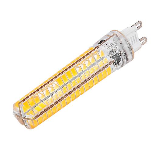 YWXLIGHT 10W 1000-1200lm G9 LED лампы типа Корн T 136 Светодиодные бусины SMD 5730 Диммируемая Декоративная Тёплый белый Холодный белый