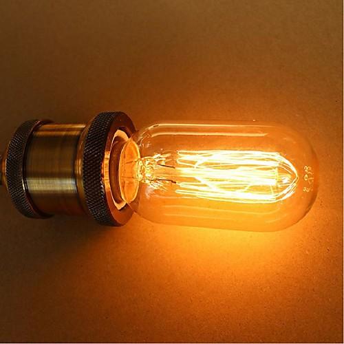 1шт 25 W E26 / E26 / E27 / E27 T45 Лампа накаливания Vintage Эдисон лампочка 220-240 V / 110-130 V