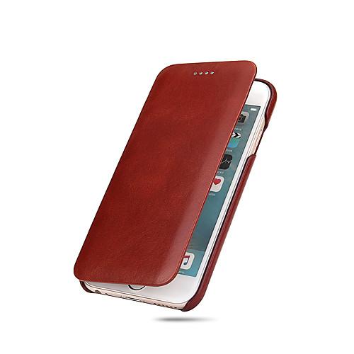 Кейс для Назначение Apple iPhone X iPhone 8 iPhone 8 Plus iPhone 6 iPhone 7 Plus iPhone 7 Ультратонкий Чехол Сплошной цвет Твердый твердый защитный чехол для iphone 6 6s 6plus 7 7plus iphone x