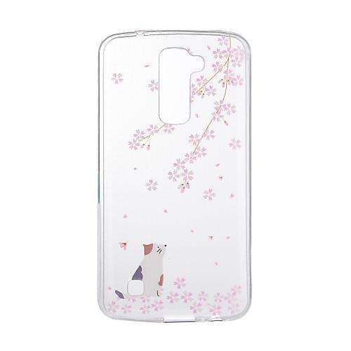 Кейс для Назначение LG G3 LG K8 LG LG K10 LG K7 LG G5 LG G4 С узором Кейс на заднюю панель Кот Мягкий ТПУ для LG V20 LG V10 lg 55uf680v