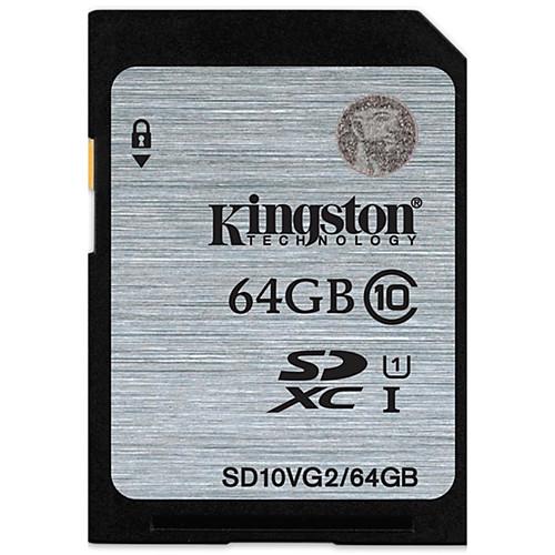 Kingston 64 Гб SD-карта карта памяти UHS-I U1 Class10 карта памяти other jvin 8gtf