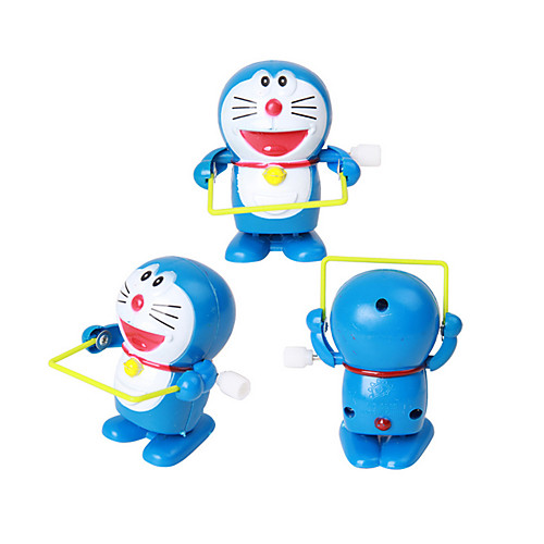 Игрушка с заводом Оригинальные Кошка пластик 1 pcs Куски Мальчики / Девочки Подарок