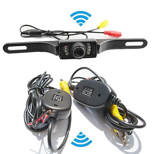 система помощи при парковке беспроводной автомобильная камера заднего вида авто ИК CCD HD заднего вида обратная универсальная резервная цена