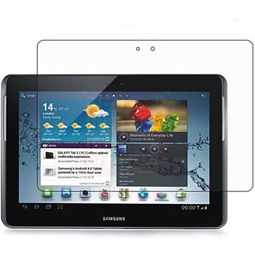 Защитная плёнка для экрана Samsung Galaxy для Tab 2 10.1 PET 1 ед. Защитная пленка для экрана Ультратонкий HD защитная пленка для мобильных телефонов motorola x 2 2 x 1 xt1097 0 3 2 5 d
