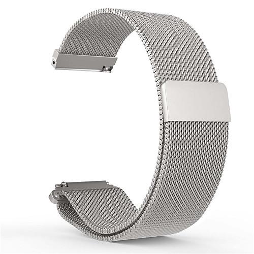 Ремешок для часов для Pebble Time Round Pebble Миланский ремешок Нержавеющая сталь Повязка на запястье