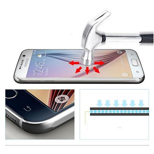 Защитная плёнка для экрана Samsung Galaxy для S6 Закаленное стекло Защитная пленка для экрана чехол deppa art case и защитная пленка для samsung galaxy s6 патриот крым ваш