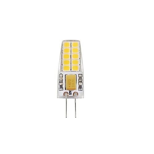 3W 280-300lm G4 Двухштырьковые LED лампы T 20 Светодиодные бусины SMD 2835 Водонепроницаемый Декоративная Тёплый белый Холодный белый 12V