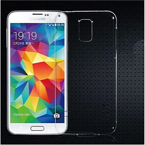 Кейс для Назначение SSamsung Galaxy Кейс для Samsung Galaxy Прозрачный Кейс на заднюю панель Сплошной цвет ТПУ для S5 Mini клип кейс ibox fresh для samsung galaxy s5 mini черный