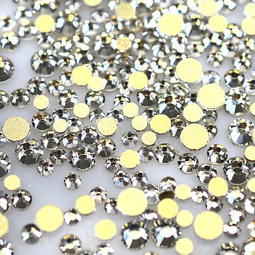 1440pcs/Pack Украшения для ногтей горный хрусталь / Блеск и сияние / Блеск и блеск Дизайн ногтей