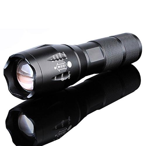 1500LM Mini Camping Hiking LED Flashlight Torch Focus Light Camping Lamp