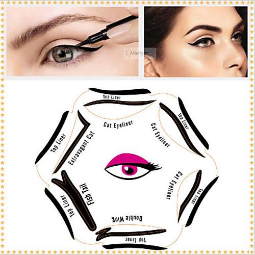 6 штук Шаблон для бровей пластик Others Глаза бады здоровье и красота а нематод для внутренней гигиены противогельминтный