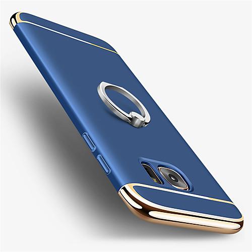 Кейс для Назначение SSamsung Galaxy S7 edge / S7 Покрытие / Кольца-держатели Кейс на заднюю панель Однотонный Твердый ПК для S7 edge / S7 фото