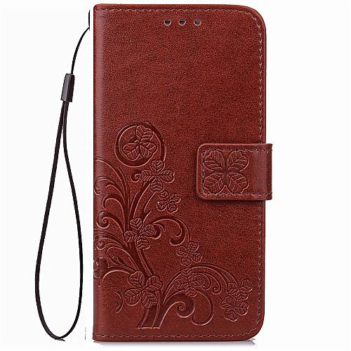 Кейс для Назначение Sony Sony Xperia X Performance Sony Xperia XA Sony Xperia X Бумажник для карт Кошелек Чехол Сплошной цвет Мягкий Кожа чехол для для мобильных телефонов oem 1 s lt15i xperia sony x 12 xperia arc s lt18i
