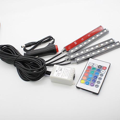 SO.K 4шт Автомобиль Лампы 3 W SMD 5050 300 lm Светодиодная лампа Внутреннее освещение цена
