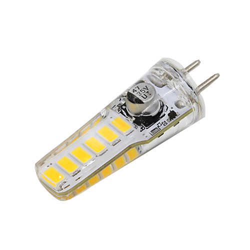 2W 160-200lm GY6.35 Двухштырьковые LED лампы T 12 Светодиодные бусины SMD 5730 Декоративная Тёплый белый 12-24V