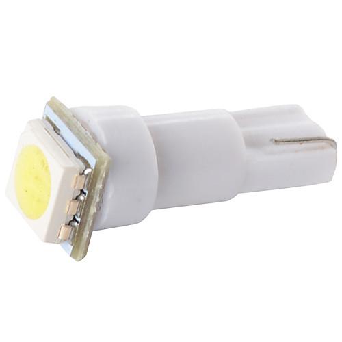 100 шт T5 Автомобиль Лампы 0.5W SMD 5050 Светодиодная лампа Внутреннее освещение цена