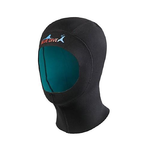 Bluedive Шлемы для дайвинга Толстая / 1mm Нейлон / Неопрен для Взрослые - Сохраняет тепло, Быстровысыхающий, Бесшовные Плавание / Дайвинг