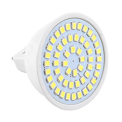 1шт 4W 450-500lm GU5.3(MR16) Точечное LED освещение MR16 54 Светодиодные бусины SMD 2835 Декоративная Тёплый белый Холодный белый